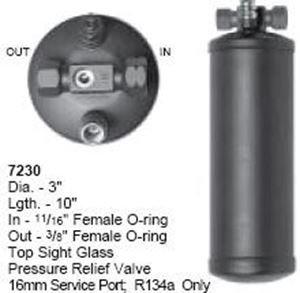 7415, a/c receptor secador - 8600 Series, para pantalla plana: Amazon.es: Coche y moto