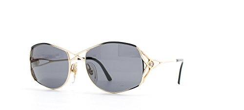 - Christian Dior 2711 49 Gold and Black Authentic Women Vintage Sunglasses