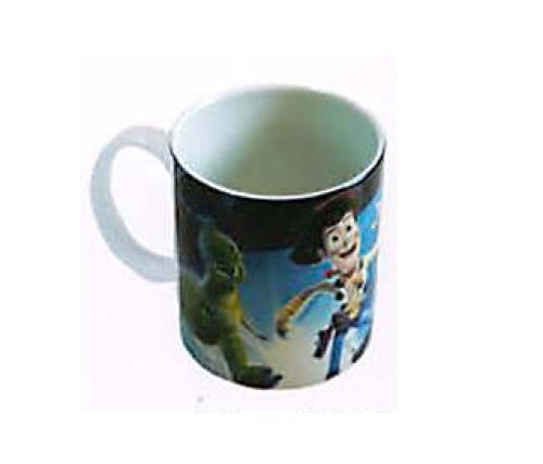Disney Pixar Toy Story Buzz Lightyear & Woody Coffee Tea Cup Mug-10 oz