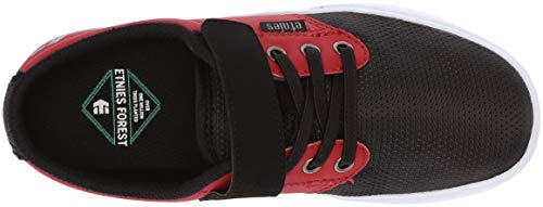 Etnies Shoe Jameson Black Kids Shoes Kids Skate 2 Unisex Red V rP8rI