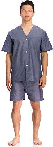 Geoffrey Beene Short Sleeve Knee Length Solid Pajama Set - Big & Tall, Assorted, 1XLarge supplies