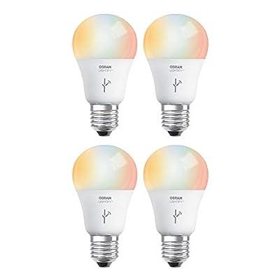 Sylvania Osram Lightify 60W A19 Daylight/RGB Smart LED Light Bulb (4 Bulbs)