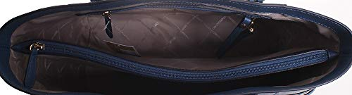 Michael Kors Voyager East West Leather Tote Handbag in Dark Chambray by Michael Kors (Image #3)