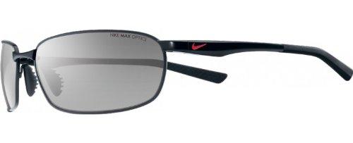 Nike Avid Wire Sunglasses (Black Frame, Grey - Sunglasses Wire Frame Men