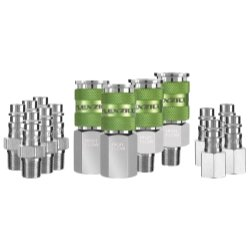 14 Piece Flexzilla Pro High Flow Coupler And Plug Kit - 1/4 in. NPT Tools Equipment Hand Tools Review