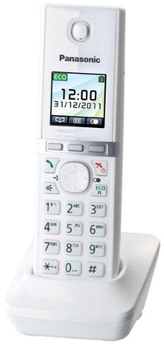 Panasonic KX-TGA806EXW Mobilteil für KX-TG805x/806x Serie mit Ladeschale weiß