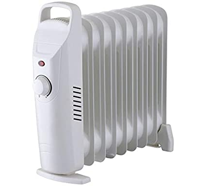 c85409ae434 Challenge 0.9kW Mini Oil Filled Radiator  Amazon.co.uk  Kitchen   Home
