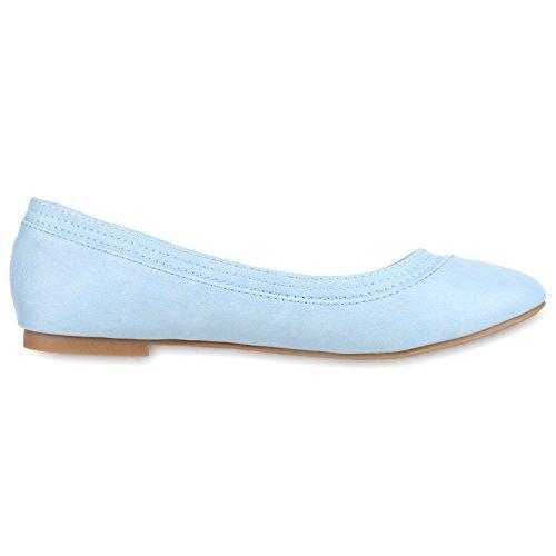 Japado - Bailarinas Mujer azul claro