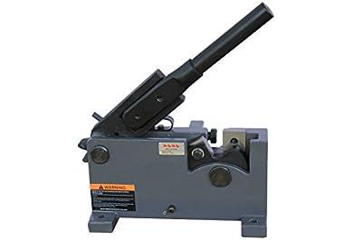 KAKA Industrial MS-28 28mm Metal Shears, Solid Construction and Versatility, Rebar Bender, Rod Steel Cutter, Flat Bar Steel, Round Metal Cutter