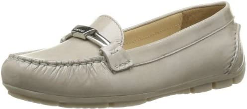 Marva C-Grey Patent Leather Loafers