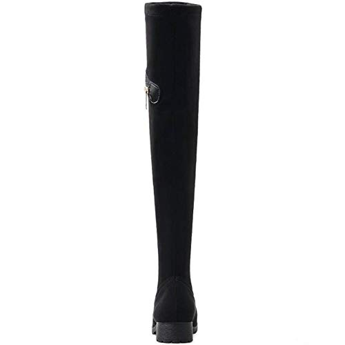 Knee Coolcept Over Boots Women Black wvx4HxqAnR