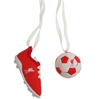 Liverpool F.C. - Colgantes para el retrovisor, diseño de pelota y ...