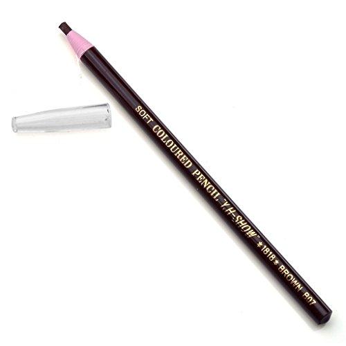 CCbeauty 2pc Pro Eyebrow Pencil Fashion Soft Crayon Eyeliner,#4