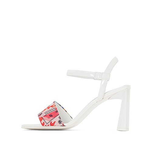 Strap MADA Textile with AMELIE REDOUTE Womens LA X Coloured Printed PICHARD Sandals Multi zqnnOvxT