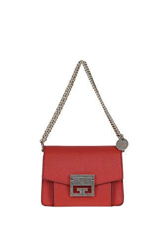 (Givenchy Women's Mcglbre000006059i Red Leather Shoulder Bag)