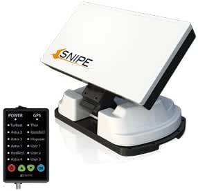 Antena plana con búsqueda automática con Kit de montaje ...