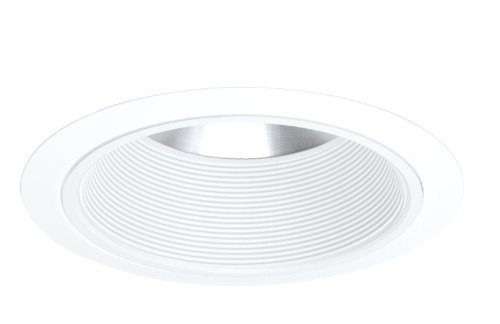 Baffle Shallow (Juno Lighting Group 244W-WH 6-Inch Shallow Baffle with White Trim)