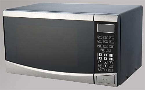Avanti MT09V3S Countertop Microwave, 0.9 cubic feet, Stainless Steel