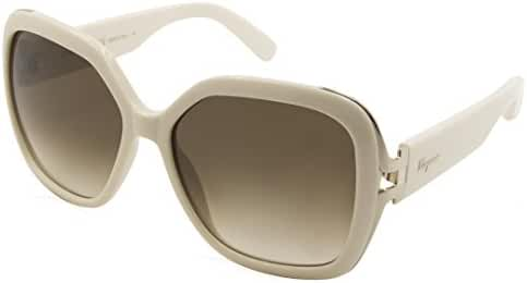 Salvatore Ferragamo Womens Gradient UV Protection Square Sunglasses
