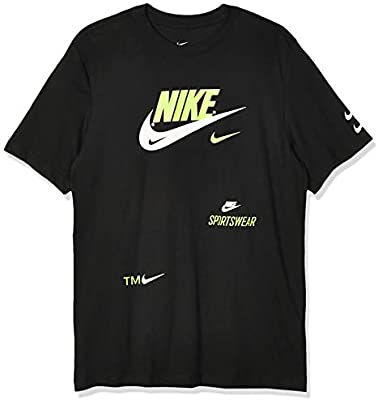 NIKE M NSW Pack 2 tee 2 Short Sleeve T-Shirt, Hombre, Black, S: Amazon.es: Deportes y aire libre
