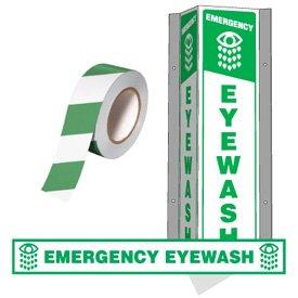 First Aid & Emergency Wash Area ID Kit - Eyewash by Emedco (Image #1)
