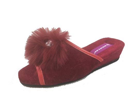 pour Mules Dunlop Red Diana Femme SwEx0pqY