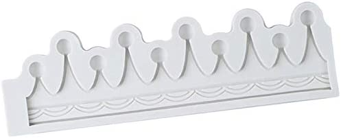 YUIOP 3D Krone Silikonform Cupcake Topper DIY Baby Geburtstagsfeier Kuchen Dekorationswerkzeuge Fondant Backen Praline Formen