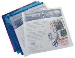 Bulk Buy: Generations Craft Keepers Snap Closure Envelope Assorted Colors 12X12 85590 (10-Pack)