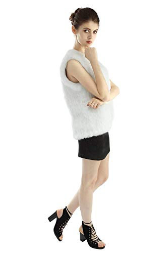 De Elégante Manteau Synthétique Fashion Unicolore Dame Manches Blouson Jacken Doux Hiver Battercake Outerwear Gilet Vintage Automne Confortable Fourrure Femme Sans Casual Beige wnXvUxqRf