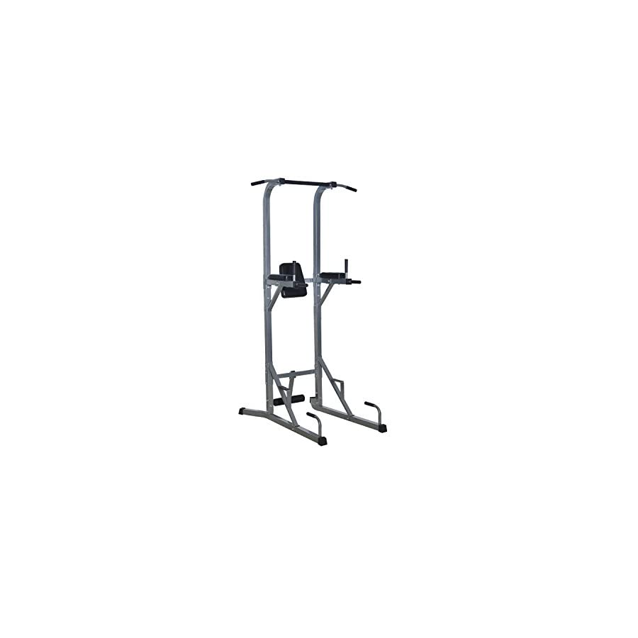 All in one Exercise Adjustable Power Squat Rack Strength Training Ultimate Workout Station With Ebook
