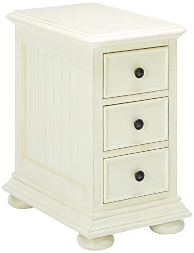 (Pulaski  Coastal Chairside White Accent Chest Cabinet)
