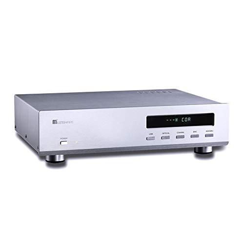 Muzishare R10 ES9018 32BIT DAC 6Z4 + 12AU7 真空管 オーディオデコーダUSB/OPT/COAX B07KJJQGF5