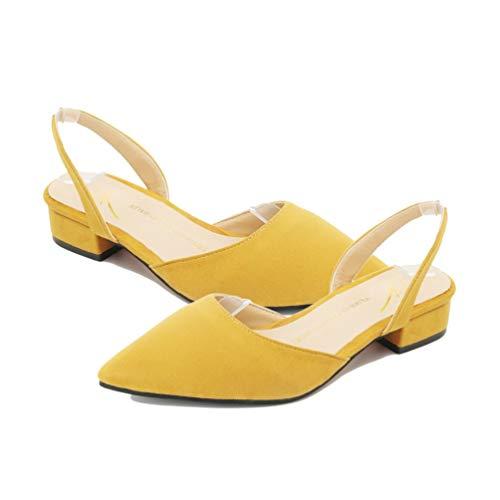 Scarpe Piatto alla estive Tacco Donna Donne Scarpe alla Strappy Punta delle Femminili Sandali Moda da Traspiranti Scarpe Scarpe Casual pxwx60Z