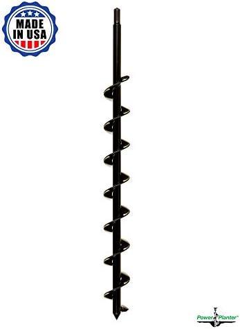 Power Planter 100% USA Made 2x24 Termite & Tree Auger1/2 Non-Slip Hex\u2026