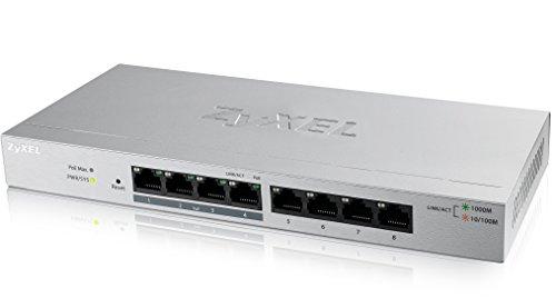 ZYXEL Zyxel Gs1200-8Hp-Gb0101F 8 Port Gigabit Poe+ Web Managed Switch