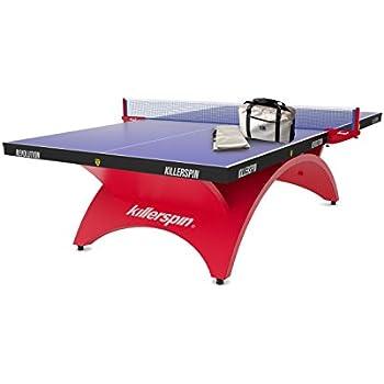 Killerspin Revolution SVR - Red1 Table Tennis Table