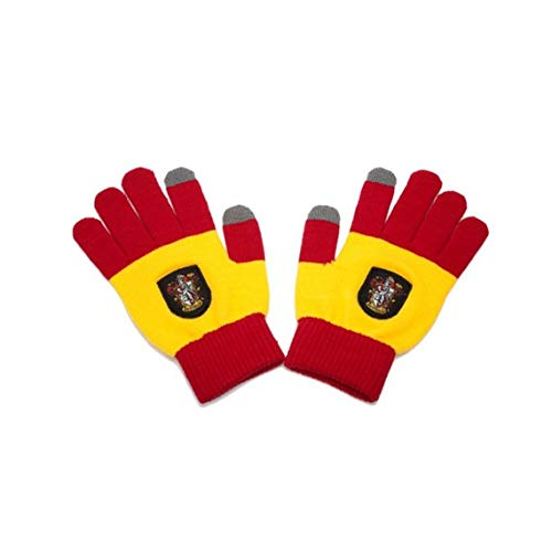 Cinereplicas Harry Potter Touchscreen Gloves for Smartphone & Tablets (Gryffindor Red & - Pointer Fan Club