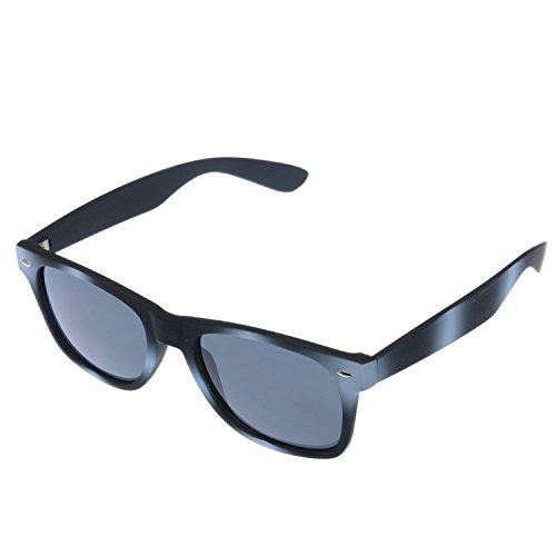 Wayfarer Style Adult Colored Fashion Sunglasses (Black/ White - Sunglasses Hottest Mens