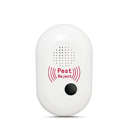 Goodlock Ultrasonic Pest Reject Electronic Magnetic Repeller Anti Mosquito Insect Killer -