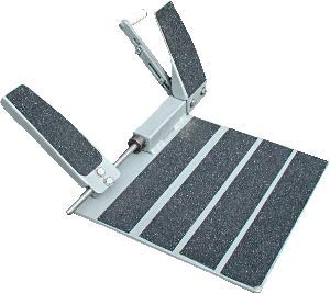 PLFA Portable Left Foot Accelerator Pedal - Made in The USA - Not Bolted to Car or Truck - US Veteran Owner