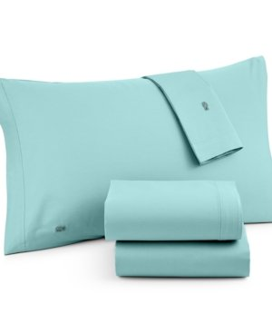 Lacoste Brushed Twill QUEEN Sheet Set, Stratosphere - Brushed Twill Sheet Set