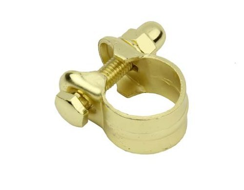 Seat Post Clamp 25.4mm Gold. by Lowrider