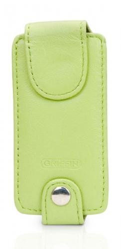 Griffin Trio 3-in-1 Interchangeable Leather Case for iPod nano 1G, 2G (Light Green)
