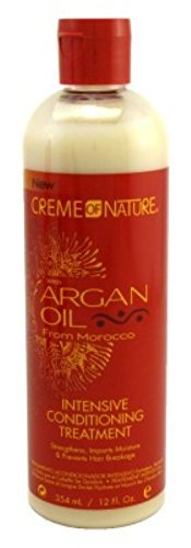 Creme of Nature Argan Oil Condition Intense Treatment 12 oz. by Creme of Nature
