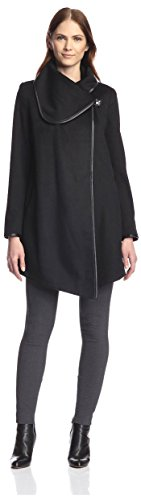 Betsey-Johnson-Womens-Drape-Coat