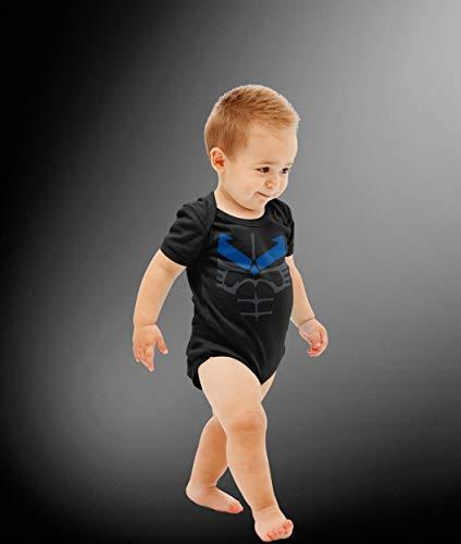 Baby Superhero Wing Costume Bodysuit