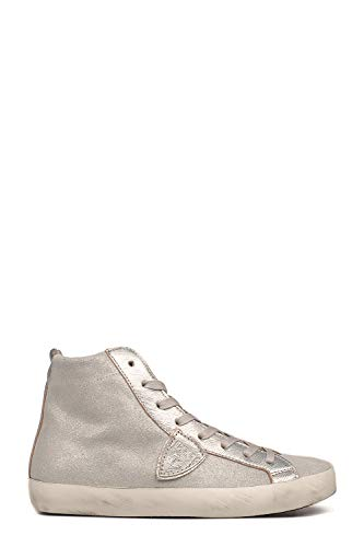 Philippe Pelle Sneakers Model Hi Grigio Top Donna Clhdxm88 SqRwSr