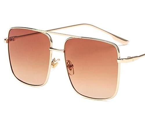 de gafas de moda de gafas Coffee sol Gafas protección protección de sol de UV400 Huyizhi Guay viajar para unisex vqxC4R