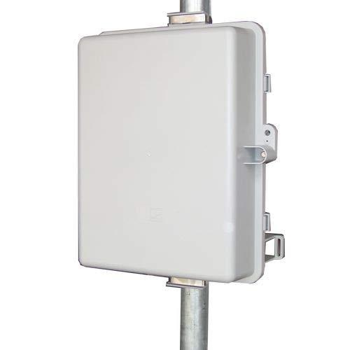 UPSPro 12V 36Ah 432Wh Outdr Backup Pwr Sys, 12V 100W Out, 12V20A PWM Chrg Ctrl w/Status Disp/20A Ld Ctrl, Incl 120/240VAC 12V120W Batt Chg w/36