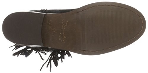 Wrangler Pampa Fringes, Zapatillas de Estar por Casa para Mujer Negro - Schwarz (62 Black)